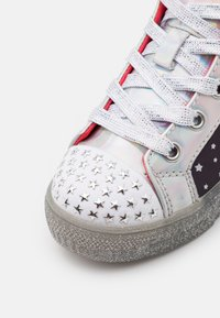 Skechers - SHUFFLE BRIGHTS - High-top trainers - black/multicolor/silver - 5