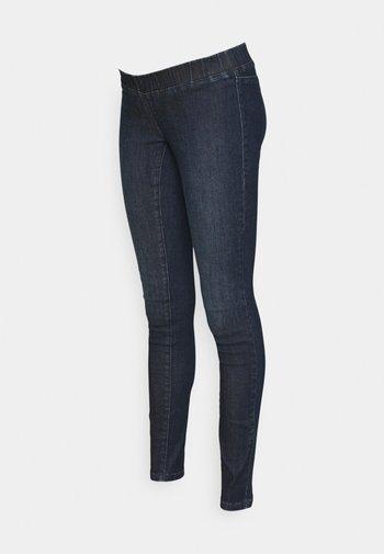 MLLOLA RECYCLED SLIM LEGGINGS  - Jeans Skinny Fit - dark blue denim