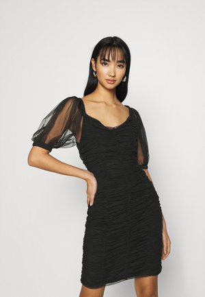 ONLDANCE PUFF DRESS  - Vestido de cóctel - black