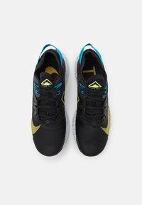 Nike Performance - PEGASUS TRAIL 2 - Trail running shoes - black/dark sulfur/off noir/chile red/laser blue/limelight - 3
