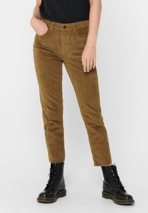 Straight leg jeans - toasted coconut