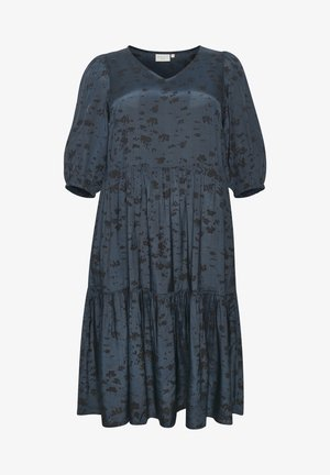 KCVIVILA  - Day dress - midnight navy graphic print