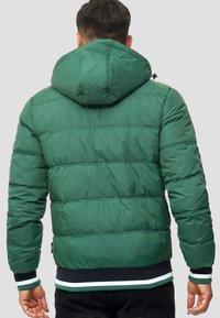 INDICODE JEANS - REGULAR  FIT - Winter jacket - smoke pine - 2