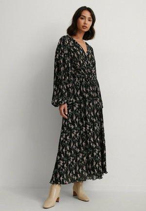 Maxi dress - dark flower
