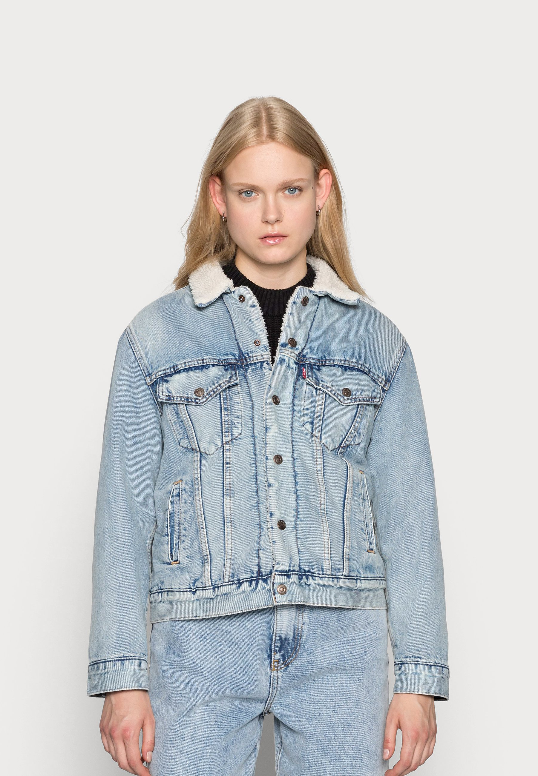 Women TRUCKER - Denim jacket