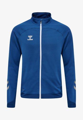HMLLEAD POLY ZIP JACKET - Training jacket - true blue