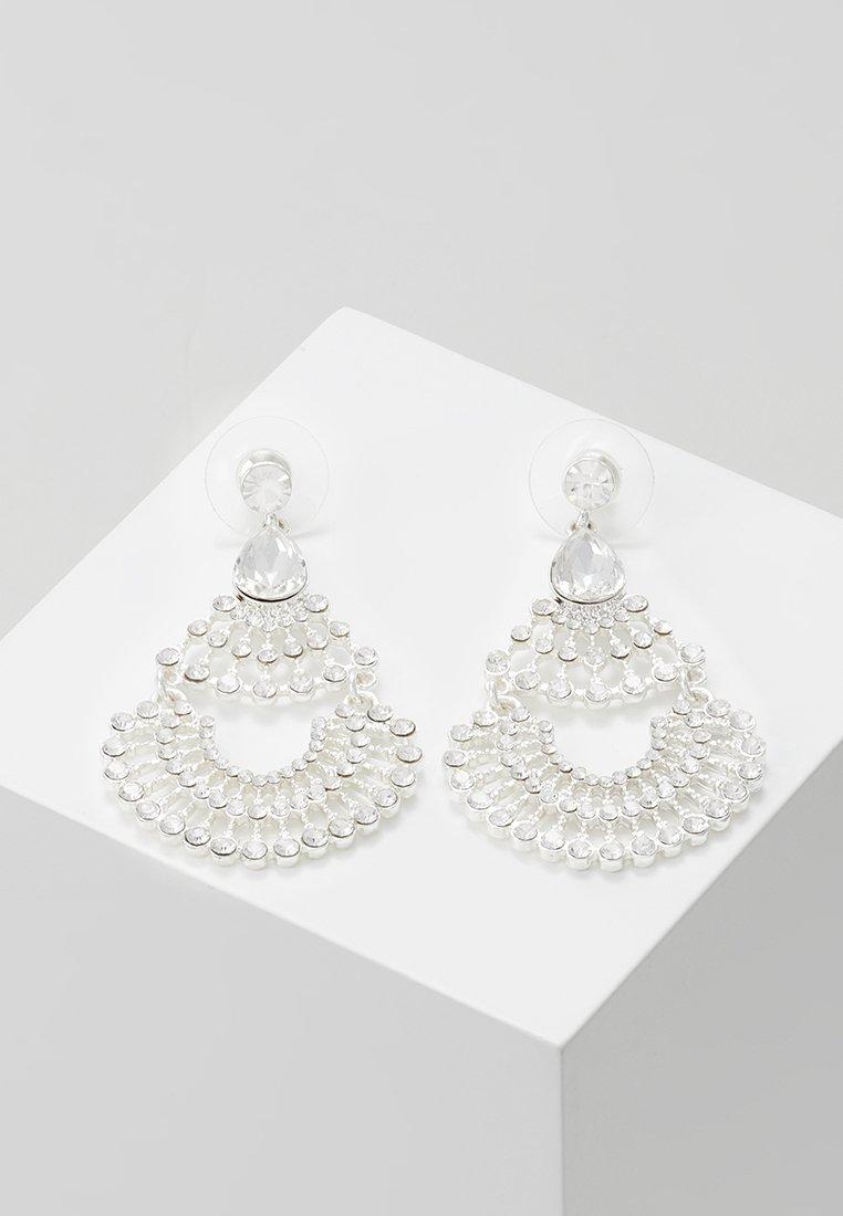 SNÖ of Sweden - CHARLENE PENDANT EAR  - Boucles d'oreilles - silver-coloured