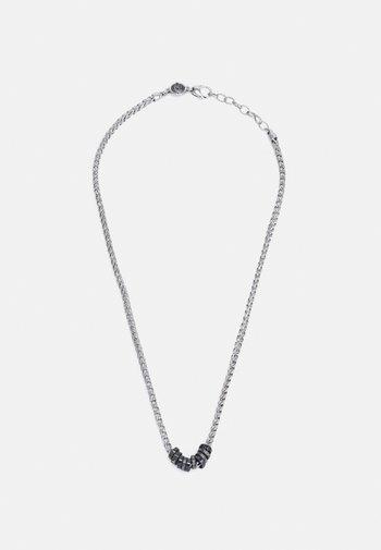 Necklace - silver-cloured