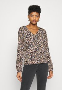 Vila - VILITIN V NECK - Blouse - black - 0