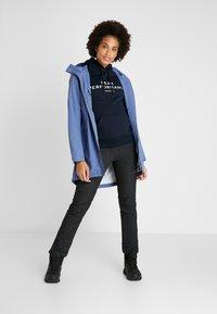 Didriksons - FOLKA WOMEN'S - Waterproof jacket - fjord blue - 1