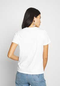 Banana Republic - NEW SUPIMA CREW - Basic T-shirt - white - 2