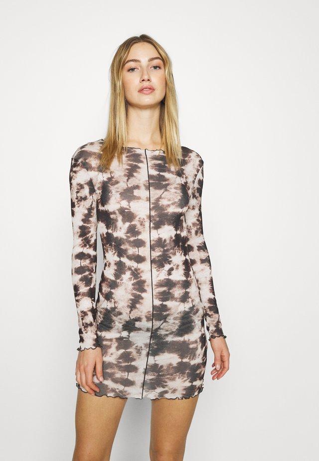 TIE DYE  MINI - Jersey dress - multi