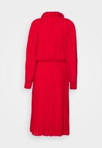 Victoria Beckham - DRAPED GATHERED DRESS - Vestito elegante - red - 7