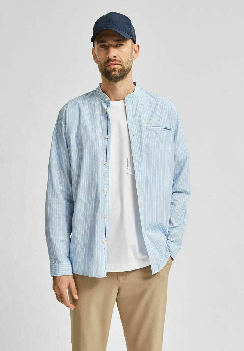 Selected Homme - SLHSLIMTEXAS - Overhemd - cerulean