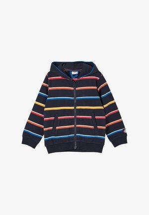 Sweater met rits - dark blue stripes