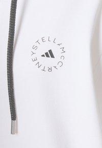adidas by Stella McCartney - HOODY - Mikina na zip - white - 6