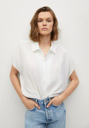 Button-down blouse - wit