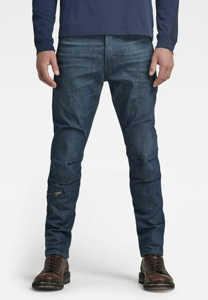 PILOT 3D SLIM - Jean slim - worn in leaden