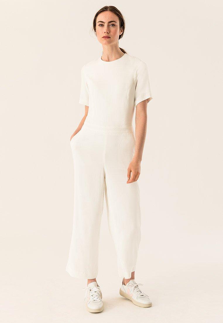 IVY & OAK - CULOTTE - Tuta jumpsuit - white