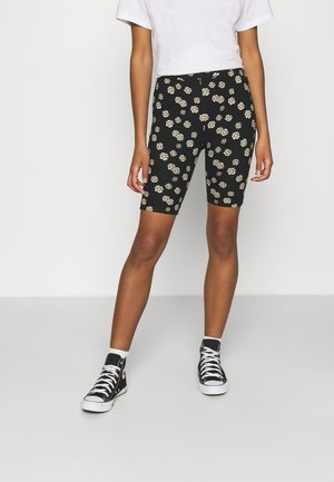 CANDY DAISY CYCLE - Leggings - Trousers - black