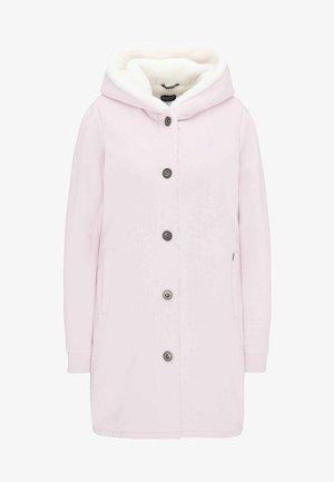 Short coat - puder rosa