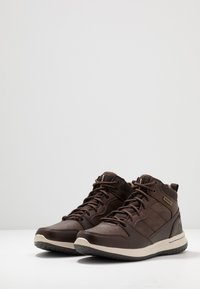 Skechers - DELSON - High-top trainers - chocolate - 2