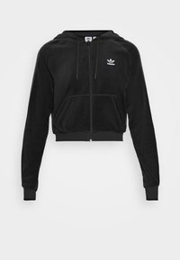 adidas Originals - CROP HOOD - Hettejakke - black - 5