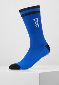 POC - ESSENTIAL MID LENGTH SOCK - Skarpety sportowe - azurite multi blue - 0