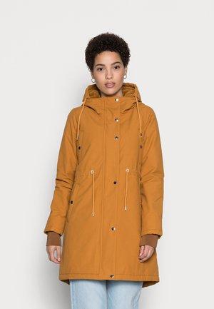 NORA  - Winter coat - mustard