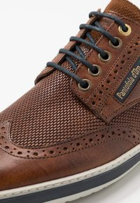 Pantofola d'Oro - MILAZZO UOMO LOW - Chaussures à lacets - tortoise shell - 5