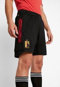 adidas Performance - BELGIUM RBFA TRAINING SHORTS - Short de sport - black - 4