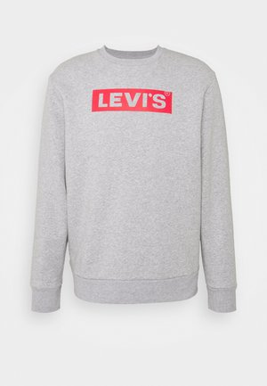 T3 GRAPHIC CREW - Sweater - greys