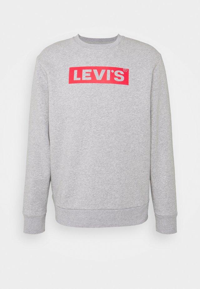 T3 GRAPHIC CREW - Sweatshirt - greys