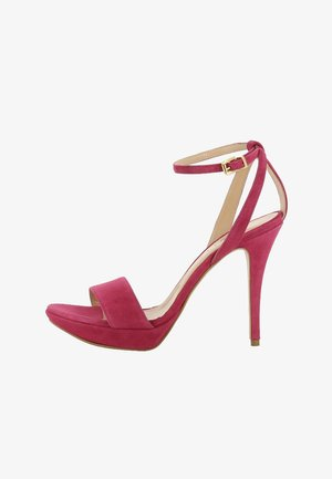 VALERIA - High heeled sandals - pink