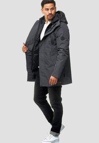 INDICODE JEANS - Winter coat - dark grey - 1