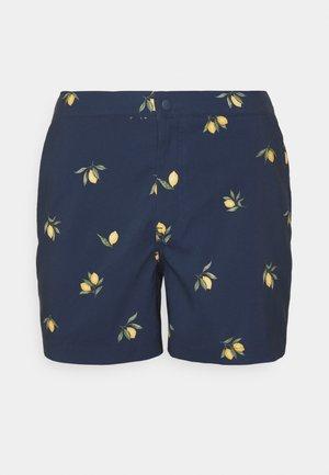 RESORT LEMONS  - Swimming shorts - navy/ lemons
