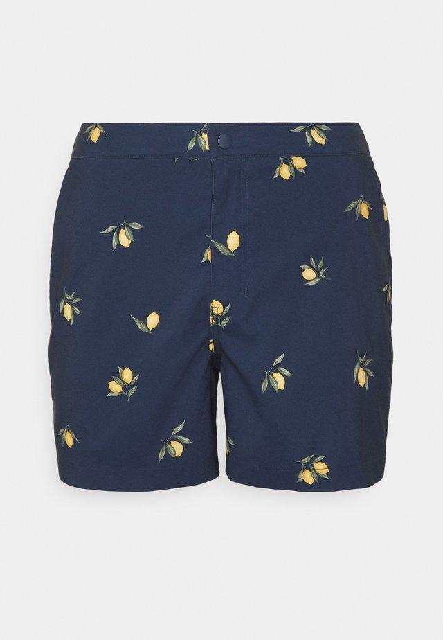 RESORT LEMONS  - Shorts da mare - navy/ lemons