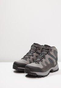 Hi-Tec - BANDERA LITE MID WP - Chaussures de marche - charcoal/grey/goblin blue - 2