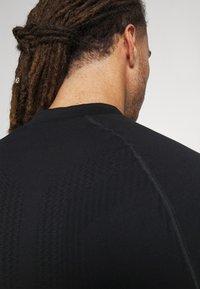 NU-IN - HALF ZIP LONG SLEEVE  - Long sleeved top - black - 6
