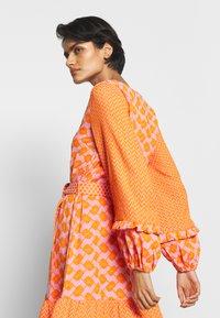 CECILIE copenhagen - LIV - Day dress - tangerine - 4
