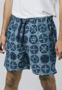 Brava Fabrics - GEOCIRCLES - Shorts - blue - 0