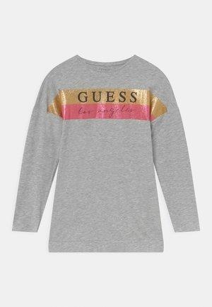 JUNIOR - Långärmad tröja - light heather grey