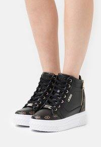 Guess - RIGGZ - High-top trainers - black brass - 0
