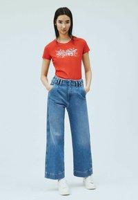 Pepe Jeans - Print T-shirt - mars rot - 1
