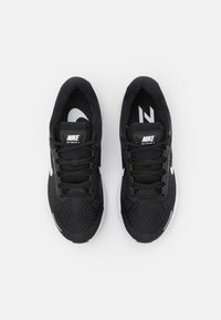 Nike Performance - AIR ZOOM STRUCTURE 23 - Zapatillas de running estables - black/white/anthracite - 3