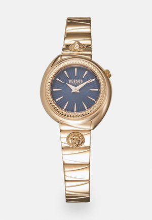 TORTONA - Horloge - rosegold-coloured/blue