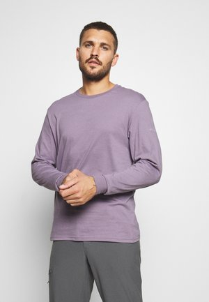 CADES COVELS GRAPHIC TEE - Maglietta a manica lunga - shale purple