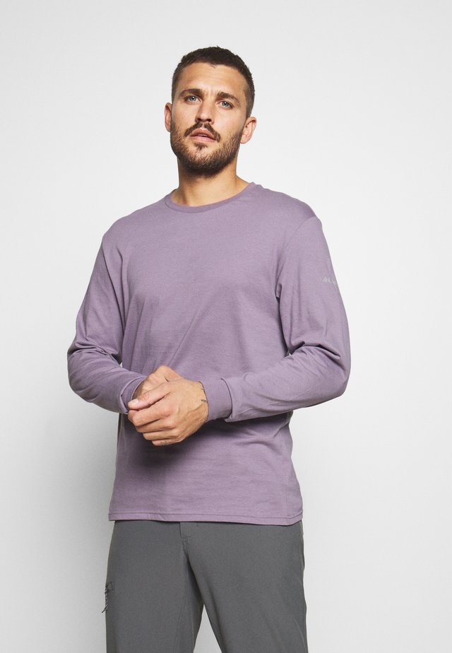 CADES COVELS GRAPHIC TEE - Top s dlouhým rukávem - shale purple