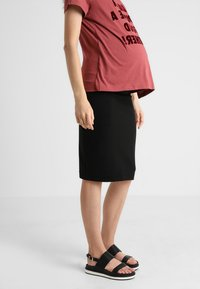 Boob - ONCE ON NEVER OFF PENCIL SKIRT - Jupe crayon - black - 0