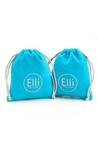 Elli - GLASS CRYSTAL - Earrings - silber - 5